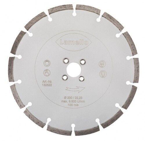Lamello Diamant Trennscheibe Ø 200 x 2.6 x 22 mm (für weiche Materialien)   1325