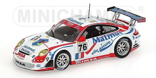 Porsche 911 Gt3 Rsr Narac Lietz 24h Le Mans 2007 1 43 Model MINICHAMPS
