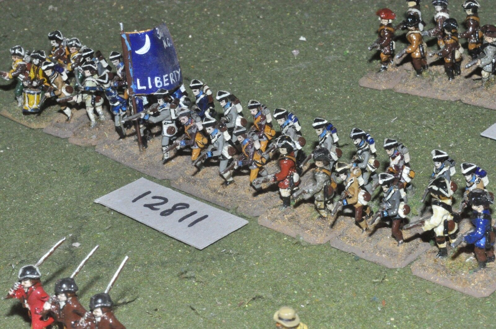 25mm AWI   american - infantry 32 figs - inf (12811)