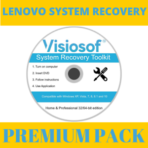 Details about LENOVO System Recovery Boot Repair Restore CD DVD Disc Window  10 8 7 Vista XP