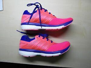 Detalles de Adidas Supernova Glide Boost 7 W Zapatillas Deportivas de Mujer  Sport Rosa