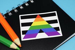 Boredom Sticker vinyl bored Meh monotony whatever rainbow pride multicolour LGBT