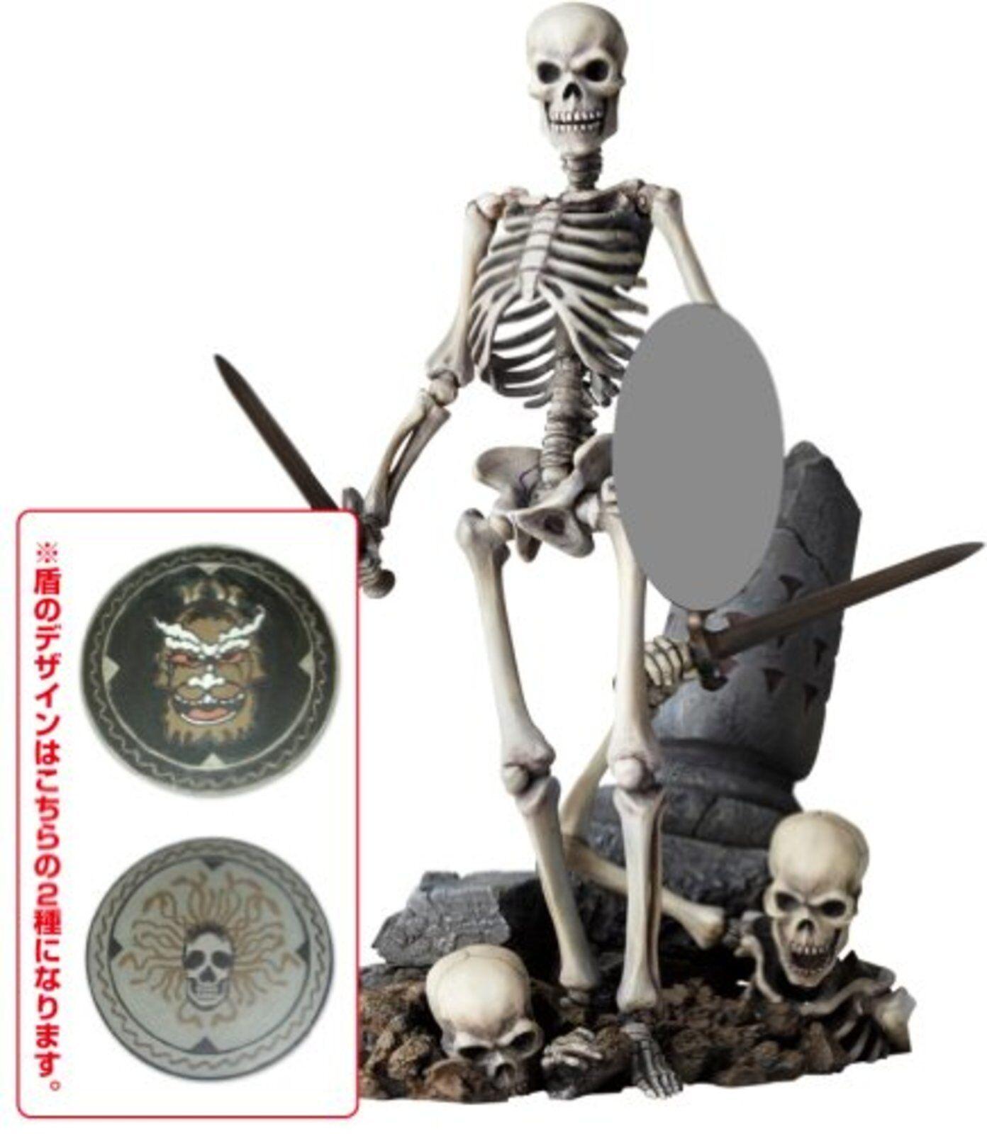 Kaiyodo science - fiction - revoltech 020 jason und die argonauten skelett krieger 2. ver.