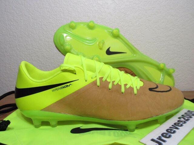 differently 30157 ee5ff Nike Hypervenom Phinish LTHR FG Soccer Cleats Sz 9.5 (759980 707) Leather  ACC