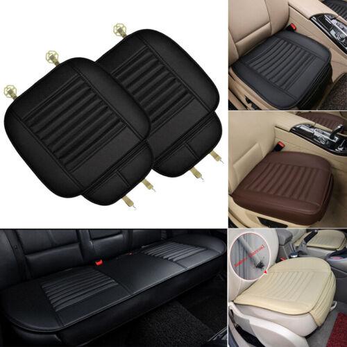 Washable Car Single Seat Cushion PU Leather Protector Cover Pad Non-Slip
