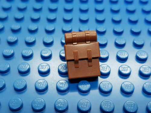 LEGO-MINIFIGURES SERIES X 1 BROWN BACKPACK NON-OPENING FOR MINIFIGURES NEW