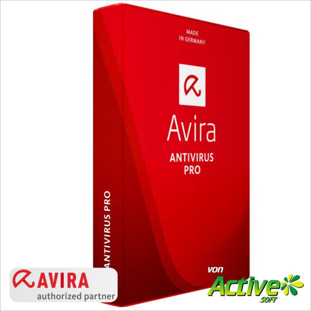 AVIRA AntiVirus PRO 2018 5 PC / Geräte 1Jahr VOLLVERSION / Upgrade DE-Lizenz UE