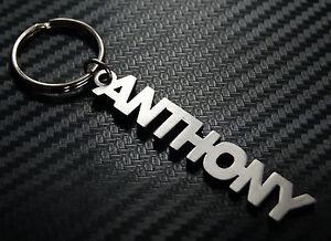 Anthony-nom-personnalise-Porte-cle-Porte-cle-sur-mesure-ACIER-INOXYDABLE-CADEAU