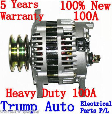New Heavy Duty Alternator for Nissan GU Patrol Y60 engine TB42 4.2L 100A 92-97
