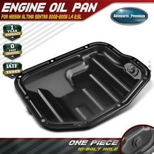 Engine Oil Pan for Nissan Sentra Altima 2002-2006 l4 2.5L