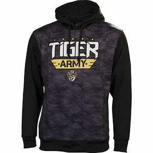 Details about AFL Richmond Tigers Mens Camo Hoodie Jumper , sizes S - 3XL  (pilling)