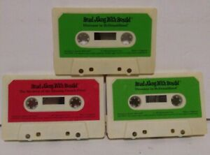 Vintage-Mcdonalds-Read-Along-With-Ronald-Cassettes-Lot-Of-3-Free-Shipping
