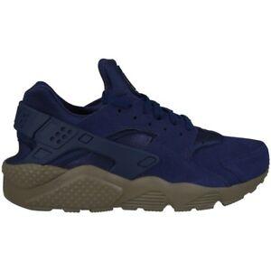 2b69d2c617 Dettagli su Nike Da Uomo Air Huarache Run Se Scarpe Da Corsa-Blu Binario |  GRIGIO | UK 6 7 8 9 10- mostra il titolo originale
