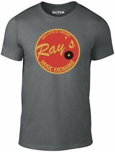 Rays Music Exchange Men's T-Shirt Blues Brothers Music Movie Inspired Film Cool