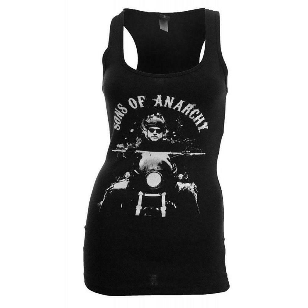 New Licensed Sons Of Anarchy Samcro Forever Skull Ladies Junior T-Shirt S M L XL