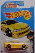 2016 Hot Wheels NIGHT BURNERZ 9/10 Custom '01 Acura Integra GSR 89/250 (Yellow)