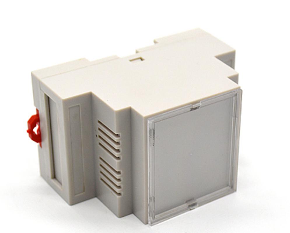 80*62*29mm din rail enclosure PLC plastic project box abs plastic instrument cas