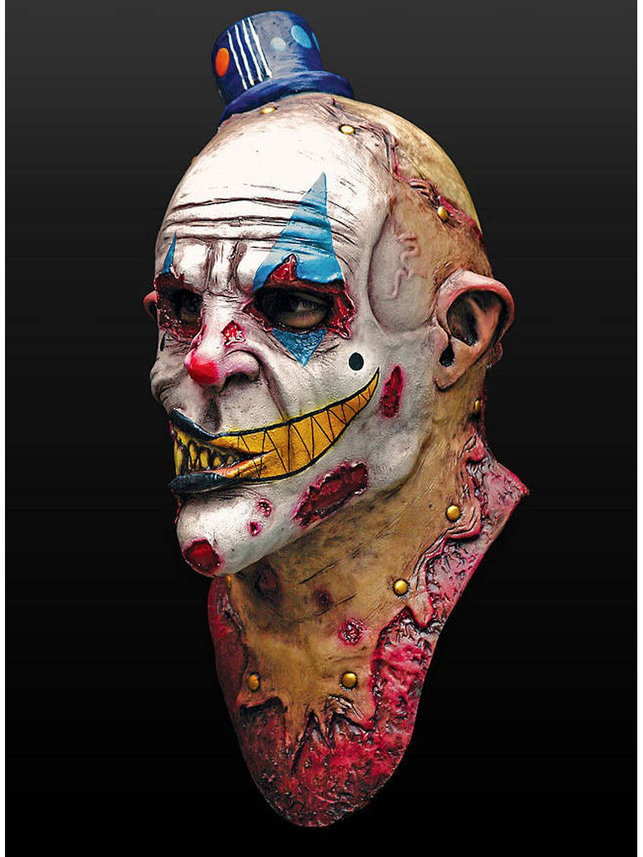 Zombie Clown Masque Latex Halloween horreur zombie Clown