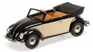 VW-Coccinelle-Beetle-1200-Cabriolet-Noir-Cream-1949