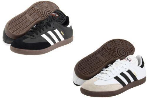 Adidas Samba, zapatos de fútbol para interiores, para hombres, tamaño 772109 - Negro 034563 NUEVO en caja