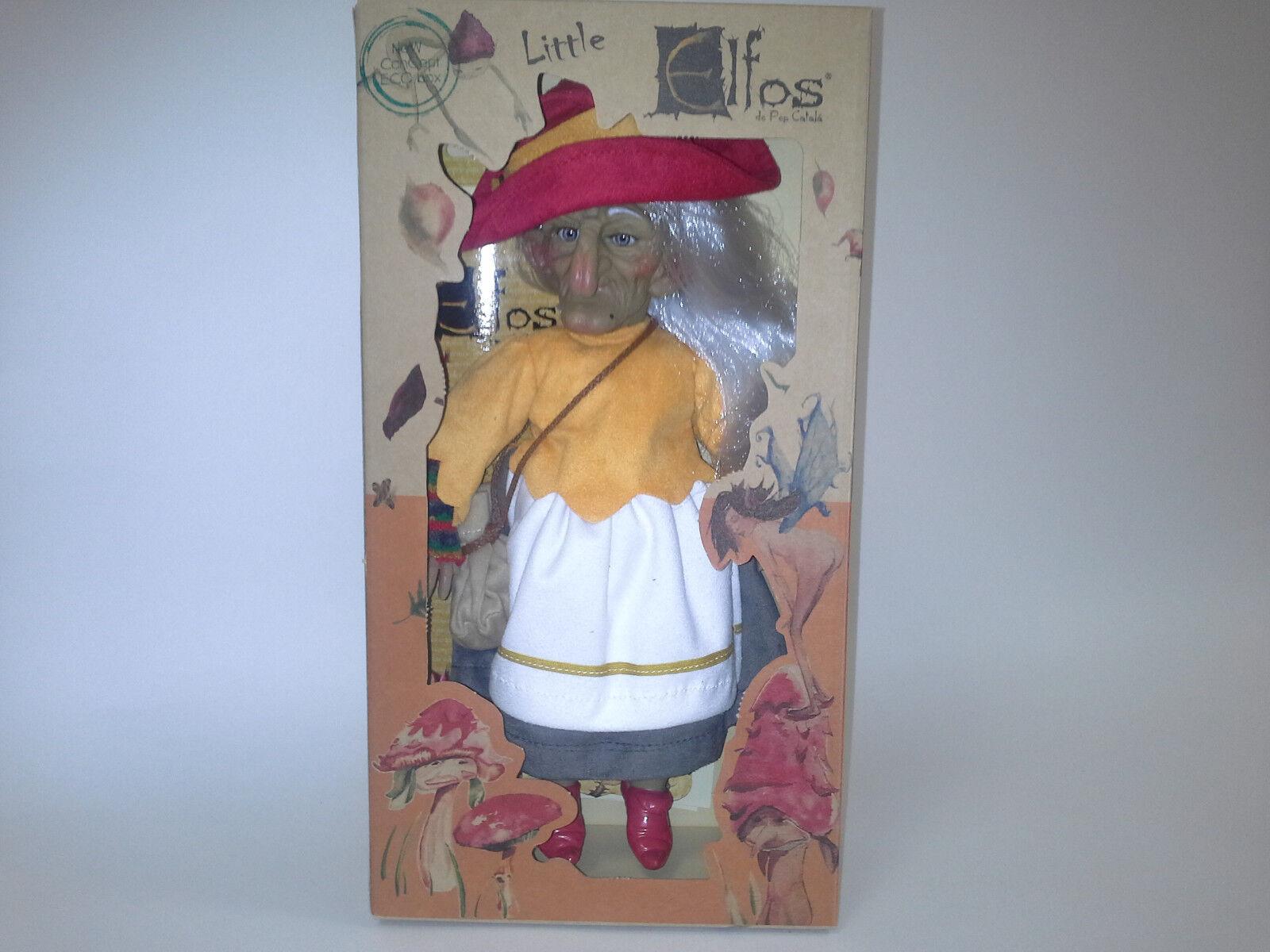 Little elfos, Elf bruixeta, 28 Cm. Colección artículo. 41017. nuevo