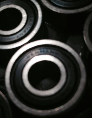 ORIGINAL GERMAN SPEED BEARINGS NEW OLD STOCK PACK OF 8 from the 1980/'s