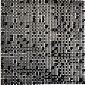 Das Bild Wird Geladen Mini Mosaik Glas Graubraun Matt Boden Dusche Bad