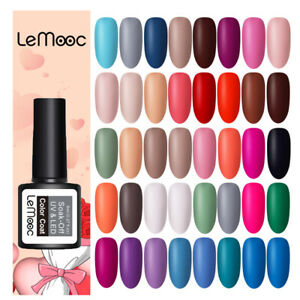 Details About Lemooc 8ml Efecto Mate Esmalte De Uñas Uv Gel Nail Polish Soak Off Uv Gel Colors