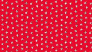Makower-Katie-Jane-Rose-Red-1901-R-100-cotton-Fabric-Patchwork-Quilting