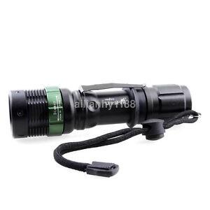 Ultrafire Lumens CREE XM-L T6 LED Compact 18650 Flashlight Torch AU