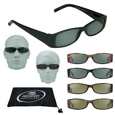 DARK TINTED Sport BIFOCAL Sunglasses Sun Readers Wrap Lens 1.0 1.5 2.0 2.5 3.0