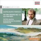 Mario Castelnuovo-Tedesco: Piano Concertos Nos. 1 & 2; Solo Piano Works (CD, Apr-2013, 2 Discs, Capriccio Records)