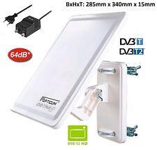 DVB-T2 HD digitale aktive Außenantenne  inkl.Verstärker XXL Antenne XXL 64db