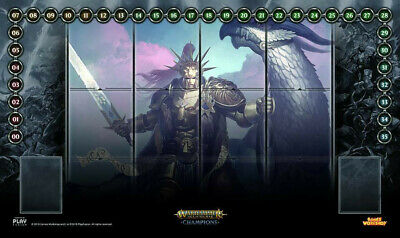 RED Chaos Aos Champions Playmat Layout Age of Sigmar Champions TCG