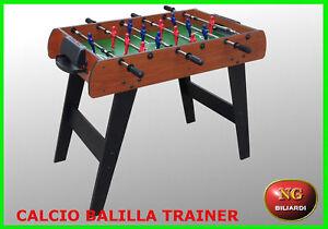 Calcio-Balilla-TRAINER-NG-BILIARDI-CALCETTO-BILIARDINO-NUOVO-ROBUSTO