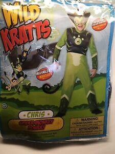 Boys-Wild-Kratts-Green-Spider-Monkey-Costume-Size-4