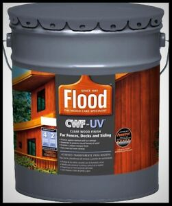 Details About Cwf Uv Clear Wood Finish 5 Gallon Oil Based Outdoor Deck Stain Sealer Waterproof
