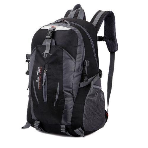 35L Large Hiking Camping Bag School Backpack Rucksack Outdoor Waterproof Luggage