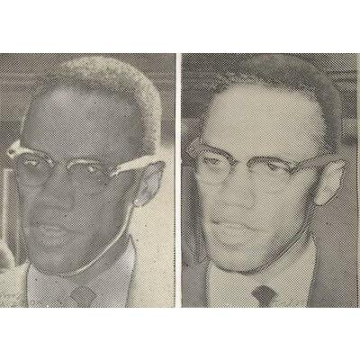 "Joe Tilson ""Malcolm X"" Screen-Prints (Lichtenstein, Warhol, Modern Art, Pop Art)"