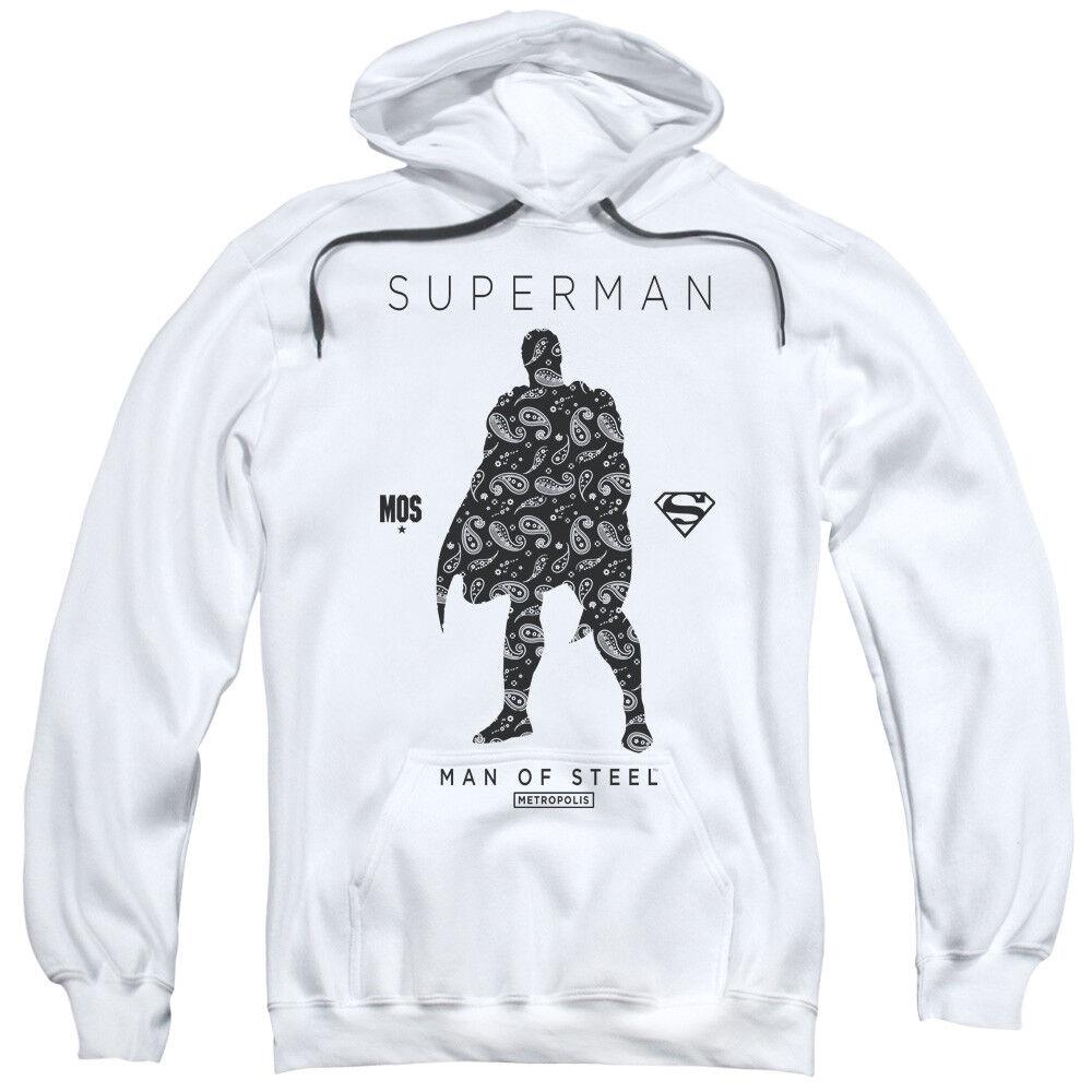 Superman Paisley Sihouette Pullover Hoodies for Men or Kids
