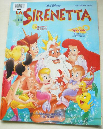 La Sirenetta - Settembre 1995 - Walt Disney - Rivista nuova offerta !