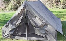 New Military Pup Tent, Genuine Military Surplus Army Camping Hiking Outdoor
