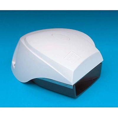 AFI 10099 White Mini Blast Compact Electric Horn
