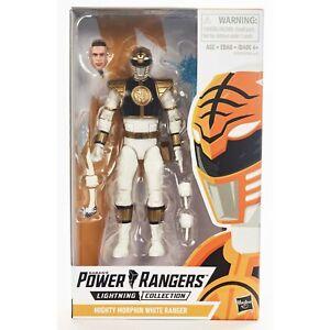 Power Rangers Lightning Collection White Ranger Action Figure Hasbro