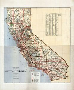 1876-Department-Interior-MAP-State-of-California-Geographical-political-20