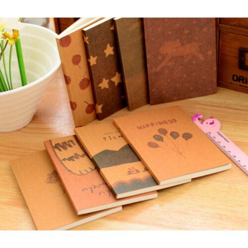 handgemachte Journal Memo Dream Notebook Papier Notizblock Leere Tagebuch  ZD KQ