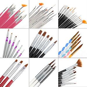 25-STYLE-Nail-Art-Acrylic-Tips-Brush-Pen-Drawing-Dotting-Painting-Liner-Kit-Set