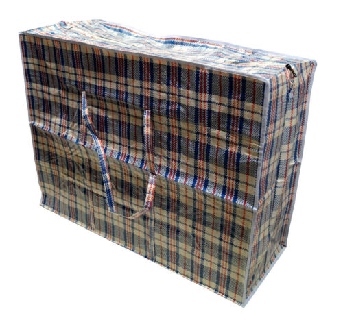 Jumbo Plastiktasche Jumbotaschen XXL Allzwecktasche Transporttasche 70X50