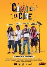 COMO EN EL CINE - ORIGINAL DVD, CINE PERUANO PELICULA PERUANA NUEVA Y SELLADA