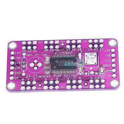TLC5947 24 Channel PWM LED Driver Module 12 Bit With Internal Oscillator 3V-5.5V